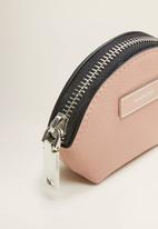 MANGO - Badu purse - light pastel pink
