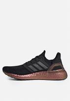adidas Performance - UltraBOOST 20 - Core Black / Grey five / Signal pink