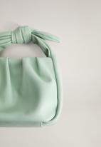 MANGO - Dori bag - light pastel green