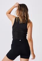 Cotton On - Mesh vestlette - black