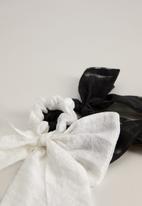 MANGO - Lazo hairbands - natural