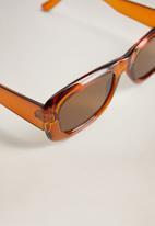 MANGO - Cassie sunglasses - rust & copper