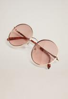 MANGO - Ali sunglasses - gold