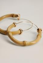 MANGO - Harlem earrings - gold