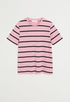 MANGO - Chalove T-shirt - pink