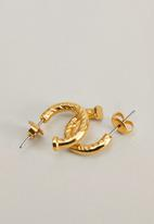 MANGO - Turto earrings - gold