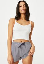 Cotton On - Ribbed sleep tank - grey