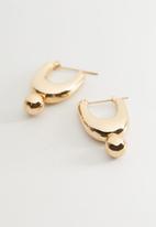 MANGO - Earrings martia - gold