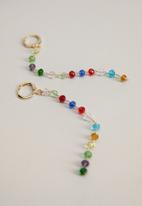 MANGO - Yaga earrings - gold