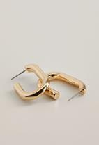 MANGO - Saffi earrings - gold