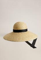 MANGO - Luis hat - light pastel brown