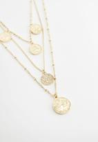 MANGO - Claire necklace - gold