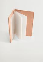 MANGO - Lole card holder - light pastel pink