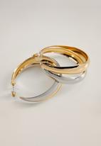 MANGO - Agneta earrings - gold