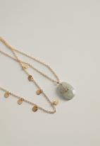MANGO - Lae necklace - gold