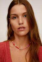MANGO - Bliss necklace - pink