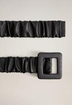 MANGO - Rejina belt - black