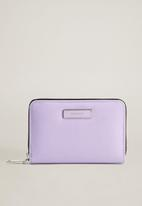 MANGO - Badu wallet - light pastel purple