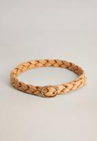MANGO - Nona belt - light beige