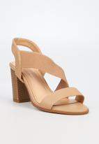 Butterfly Feet - Foxtrot heel - beige