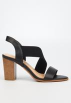 Butterfly Feet - Foxtrot heel - black