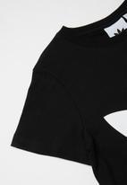 adidas Originals - Boys trefoil tee - black