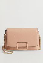 MANGO - Ribera bag - pastel pink