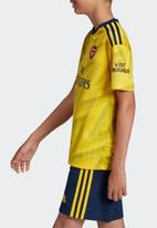 adidas Performance - Afc a short sleeve jersey top - eqt yellow