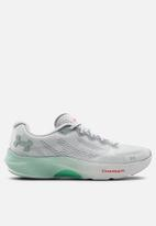Under Armour - Ua w charged pulse - halo grey / seaglass blue / enamel