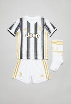 adidas Performance - Juventus home mini kit - white & black