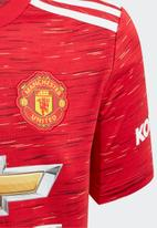 adidas Performance - Manchester United 20/21 home baby kit - red