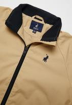 POLO - Boys Connor harrington jacket - stone
