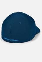 Under Armour - Ua men's blitzing 3.0 cap - graphite blue & electric blue