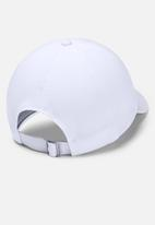 Under Armour - Ua play up cap - white