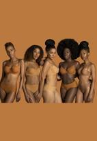 GUGU INTIMATES - Amara seamless thong - brown