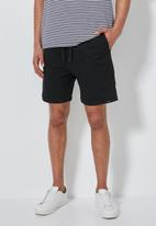Superbalist - Deco chino short - black