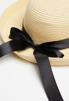 Superbalist - Krystle sun hat - neutral