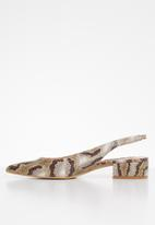 Steve Madden - Blitz heel - brown