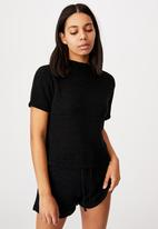 Cotton On - Summer lounge T-shirt -black