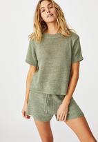 Cotton On - Summer lounge T-shirt - khaki