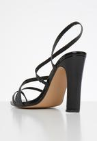 Footwork - Bianka heel - black