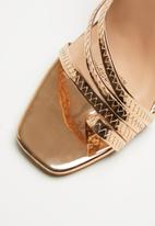 Footwork - Bianka heel - gold