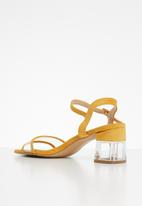 Footwork - Ensley heel - yellow