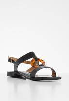 Footwork - Fleetwood sandal - black