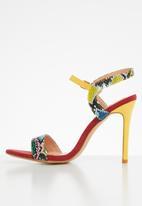 Footwork - Novah heel - red & yellow