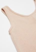 Superbalist Kids - Rib jumpsuit - blush