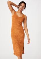 Cotton On - Tessa tank dress - melon