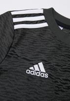 adidas Performance - Manchester United away jersey top - black