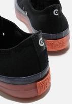 Converse - Chuck Taylor All Star cx stretch canvas - black / white / wild mango