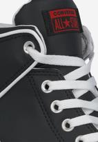 Converse - Chuck Taylor All Star high street mid - black / university red / honey